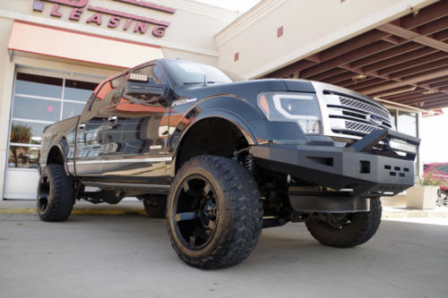 2014 Ford F-150 Crew Cab Platinum Custom 4×4 Lift Kit for sale