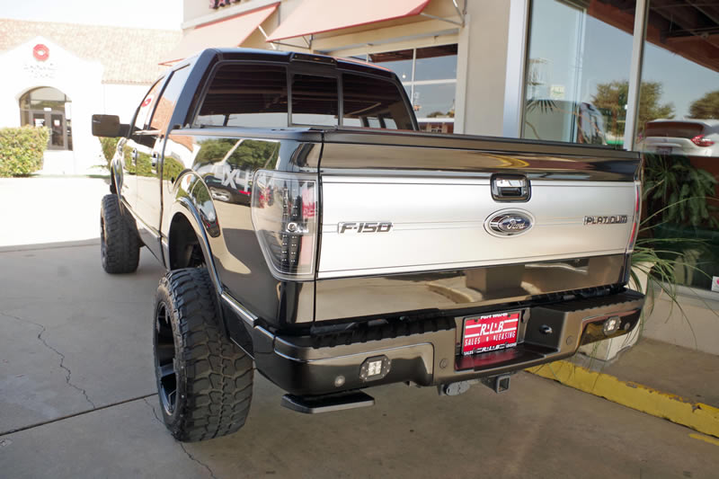 Ford F Crew Cab Platinum Custom X Lift Kit For Sale on Lifted Magnum
