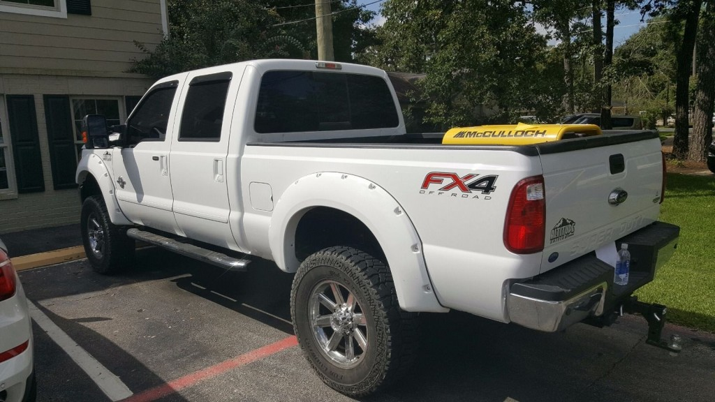 2015 Ford F-250 4×4 Diesel Limited Edition Rocky Ridge Conversion
