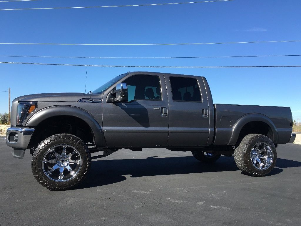 Lifted 2011 Ford F