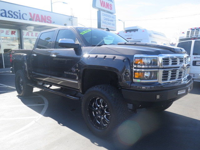 Lifted 2015 Chevrolet Silverado 1500 LTZ Crew Cab for sale