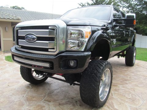 Lifted Monster Show Truck: 2015 Ford F-250 Platinum for sale