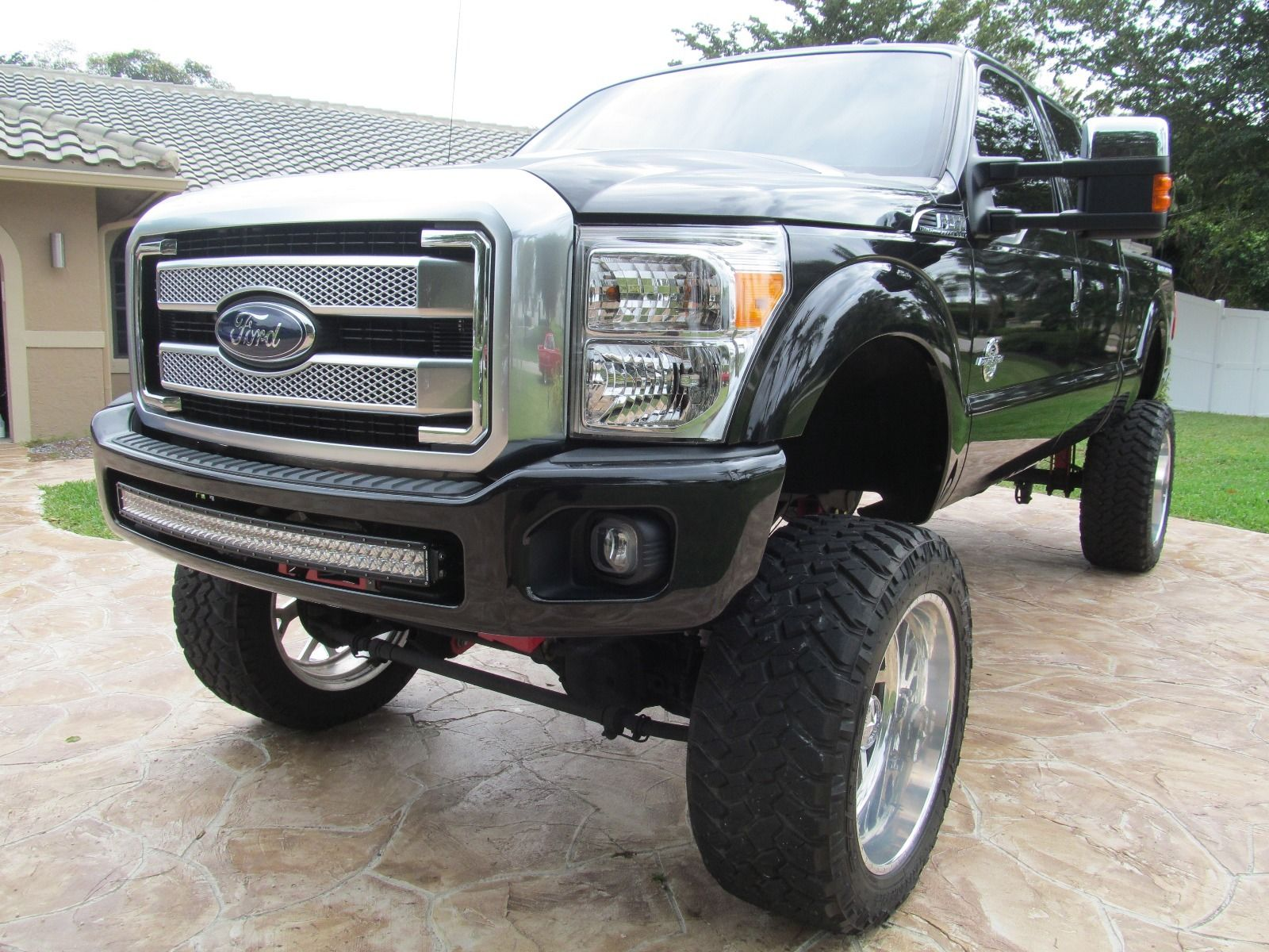 Lifted Monster Show Truck: 2015 Ford F-250 Platinum