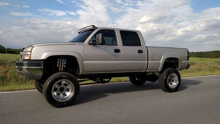 clean non smoker 2005 chevrolet silverado 2500 lifted for sale. Black Bedroom Furniture Sets. Home Design Ideas
