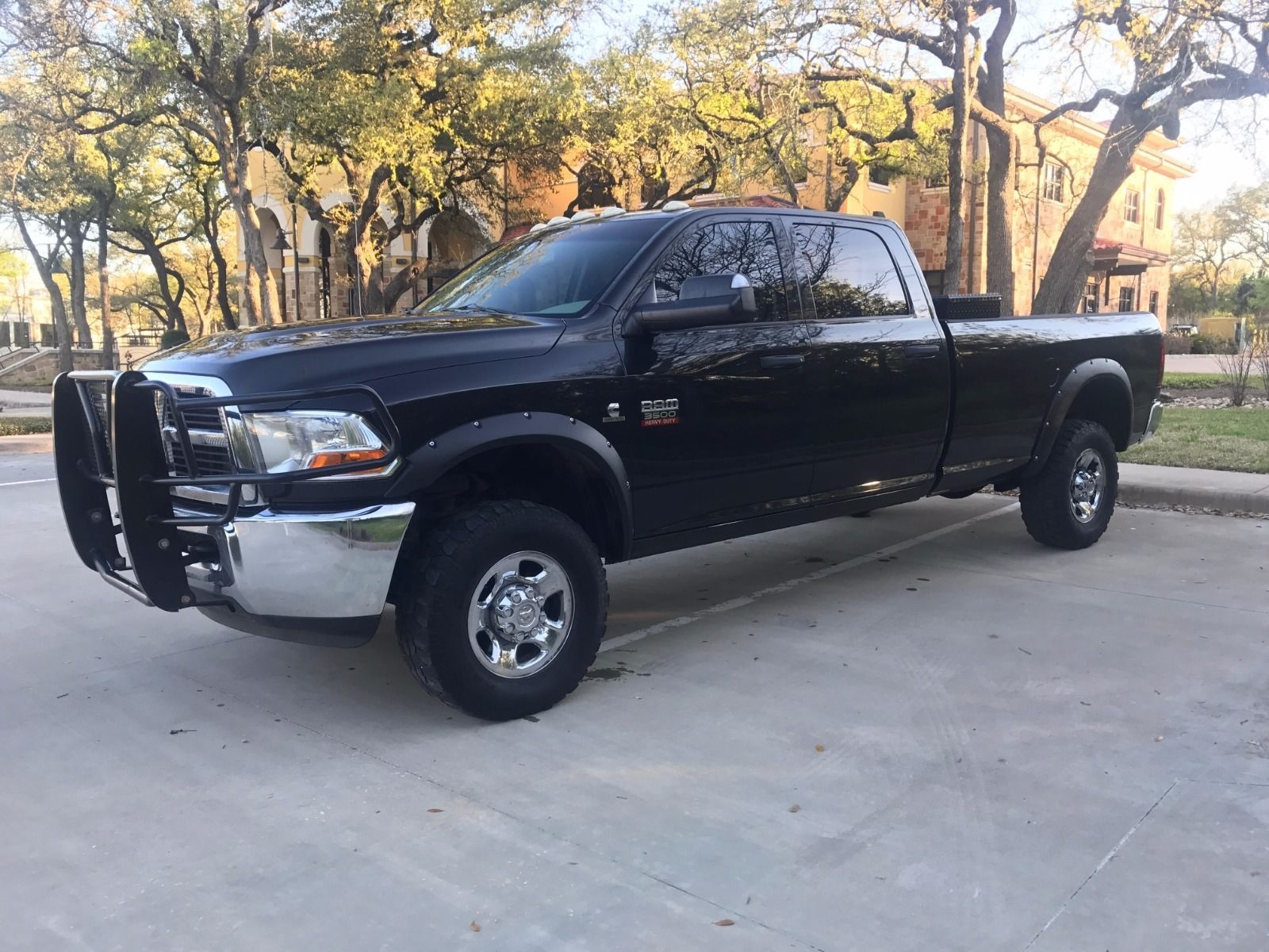 Clean Texas truck 2011 Dodge Ram 3500 SLT lifted for sale