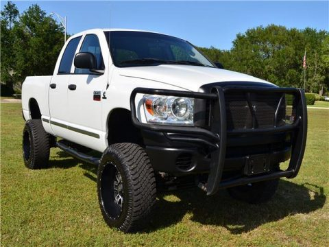 Rare 6-speed 2008 Dodge Ram 2500 Laramie lifted for sale