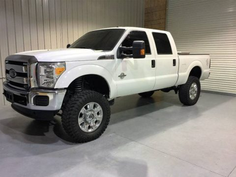 Well equipped 2015 Ford F 250 XLT 4×4 Crew Cab lifted for sale