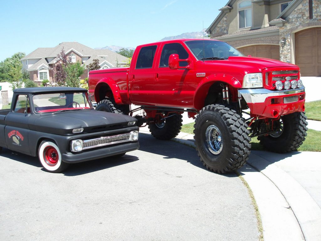 Air Ride 1999 Ford F 350 Lariat Lifted Truck Pickup For Sale