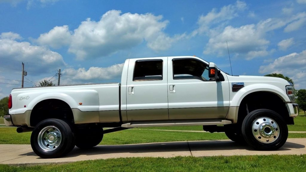 awesome looking 2008 ford f 450 lariat lifted truck for sale. Black Bedroom Furniture Sets. Home Design Ideas