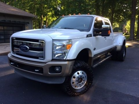 Excellent condition 2011 Ford F 450 King Ranch Diesel lifed for sale