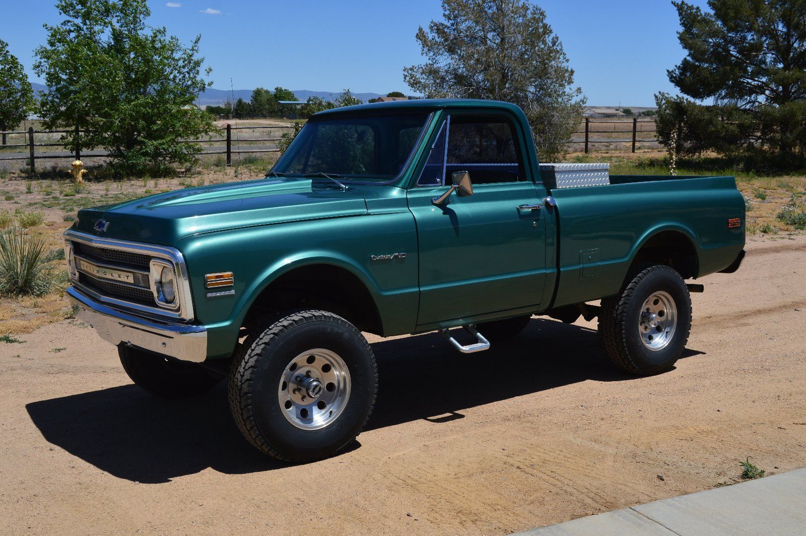 2011 Chevy Tahoe For Sale >> Fully restored 1970 Chevrolet C 10 Custom lifted for sale