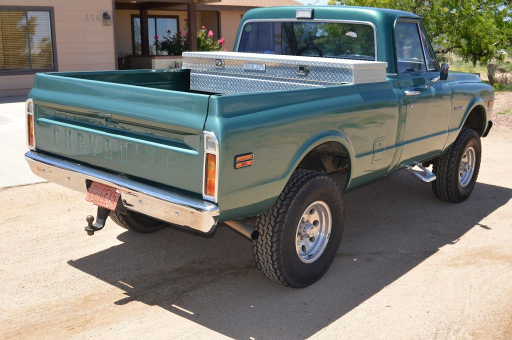 Fully Restored 1970 Chevrolet C 10 Custom Lifted For Sale
