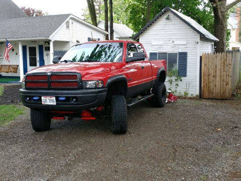 Good condition 1999 Dodge Ram 1500 lifted for sale