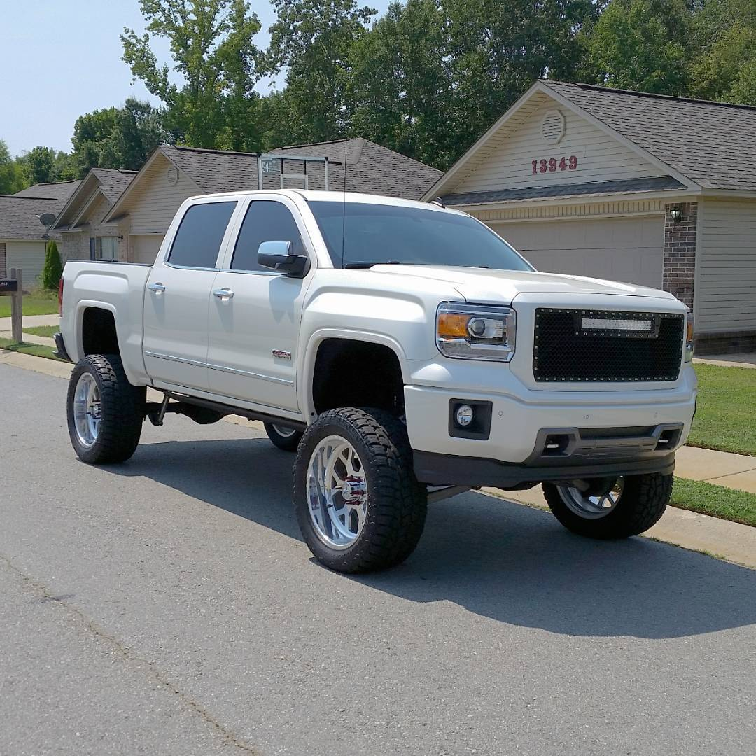 For Sale Heavily Equpiied 2014 Gmc Sierra 1500 All Terrain Lifted Truck