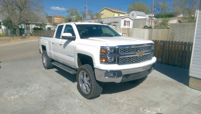 lift kit 2015 chevrolet silverado 1500 lt lifted pickup for sale. Black Bedroom Furniture Sets. Home Design Ideas