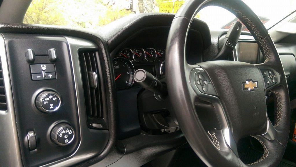 Lift kit 2015 Chevrolet Silverado 1500 LT lifted pickup