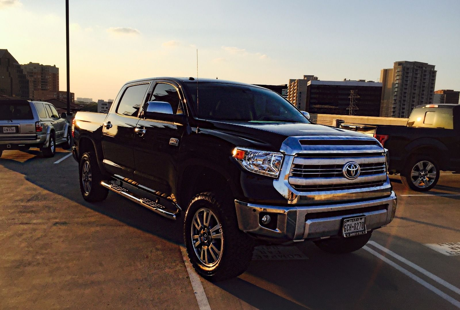 Toyota Dealership Dallas >> Loaded 2015 Toyota Tundra 1794 Edition lifted truck for sale