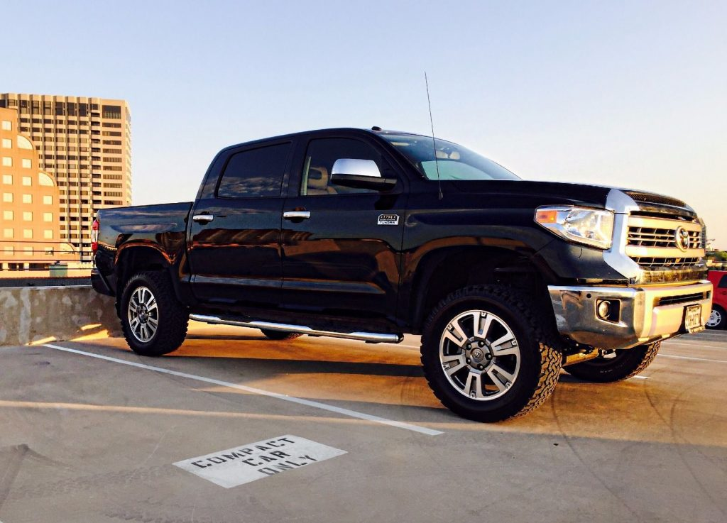 loaded 2015 toyota tundra 1794 edition lifted truck for sale. Black Bedroom Furniture Sets. Home Design Ideas