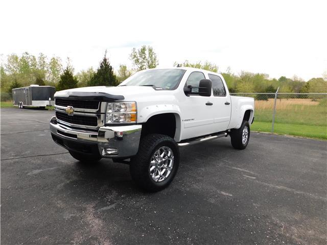 loaded beauty 2007 chevrolet silverado 2500 lt lifted truck for sale. Black Bedroom Furniture Sets. Home Design Ideas