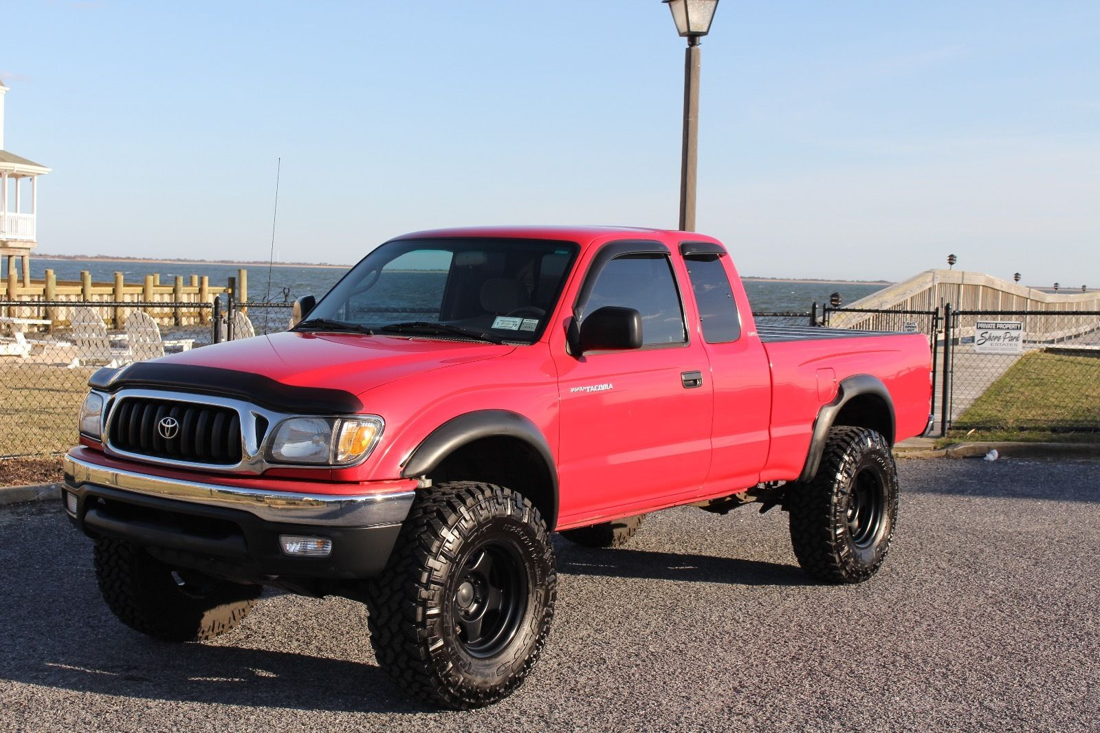 lots of extras 2001 toyota tacoma sr5 lifted truck for sale. Black Bedroom Furniture Sets. Home Design Ideas
