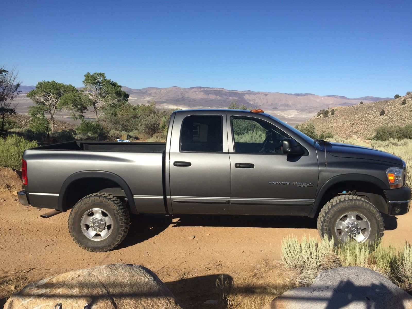 6 speed manual 2006 dodge ram 2500 power wagon lifted for sale. Black Bedroom Furniture Sets. Home Design Ideas