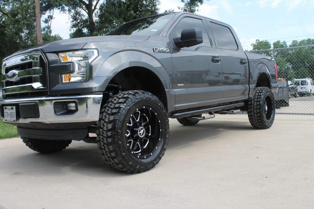 Custom Equipped 2016 Ford F 150 Xlt Lifted For Sale