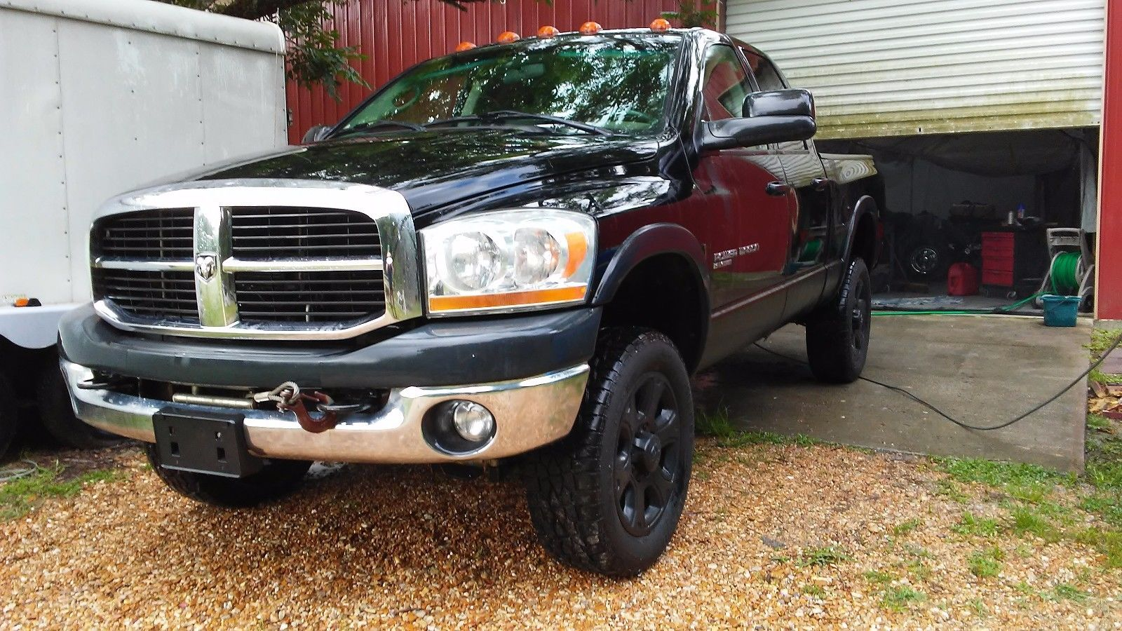 minor wear 2006 dodge power wagon lifted for sale. Black Bedroom Furniture Sets. Home Design Ideas