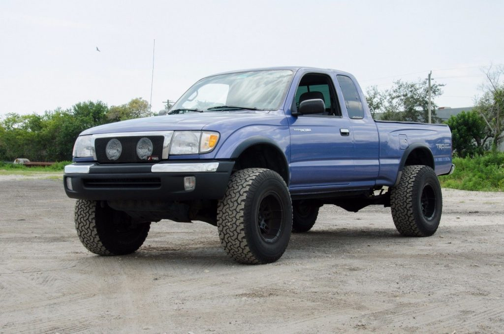 offroad package 1999 toyota tacoma trd 4x4 lifted for sale. Black Bedroom Furniture Sets. Home Design Ideas