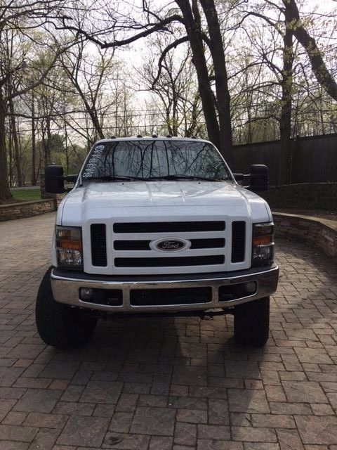 Powerstroke worker 2008 Ford F 250 XLT lifted