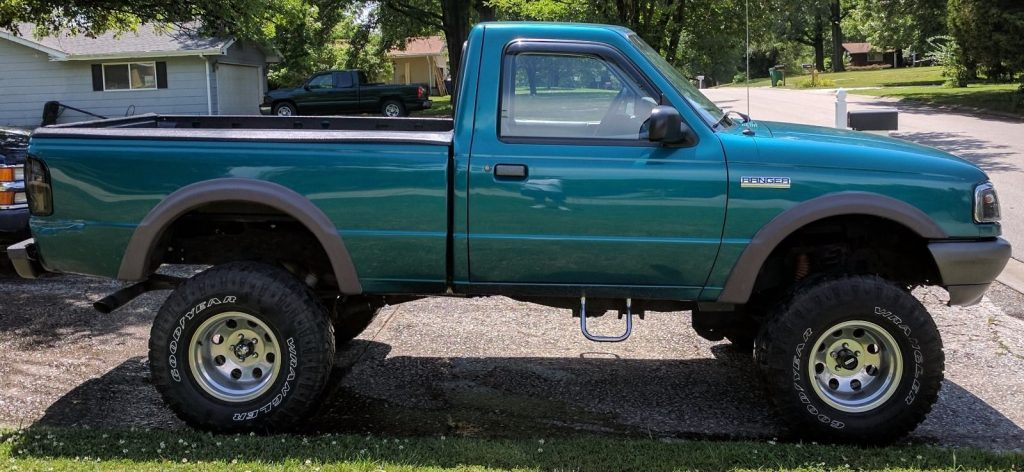 Rare Shortbed 1997 Ford Ranger Xlt Lifted For Sale