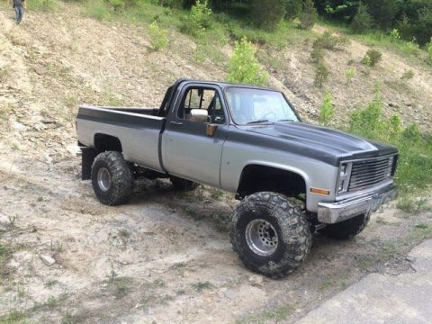 Rebuilt engine 1986 GMC Sierra 1500 lifted for sale