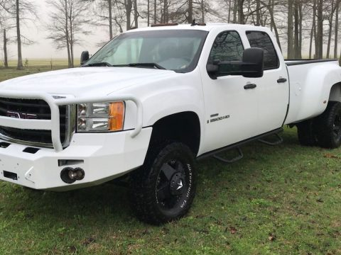 Special MODS 2008 GMC Sierra 3500 lifted truck for sale