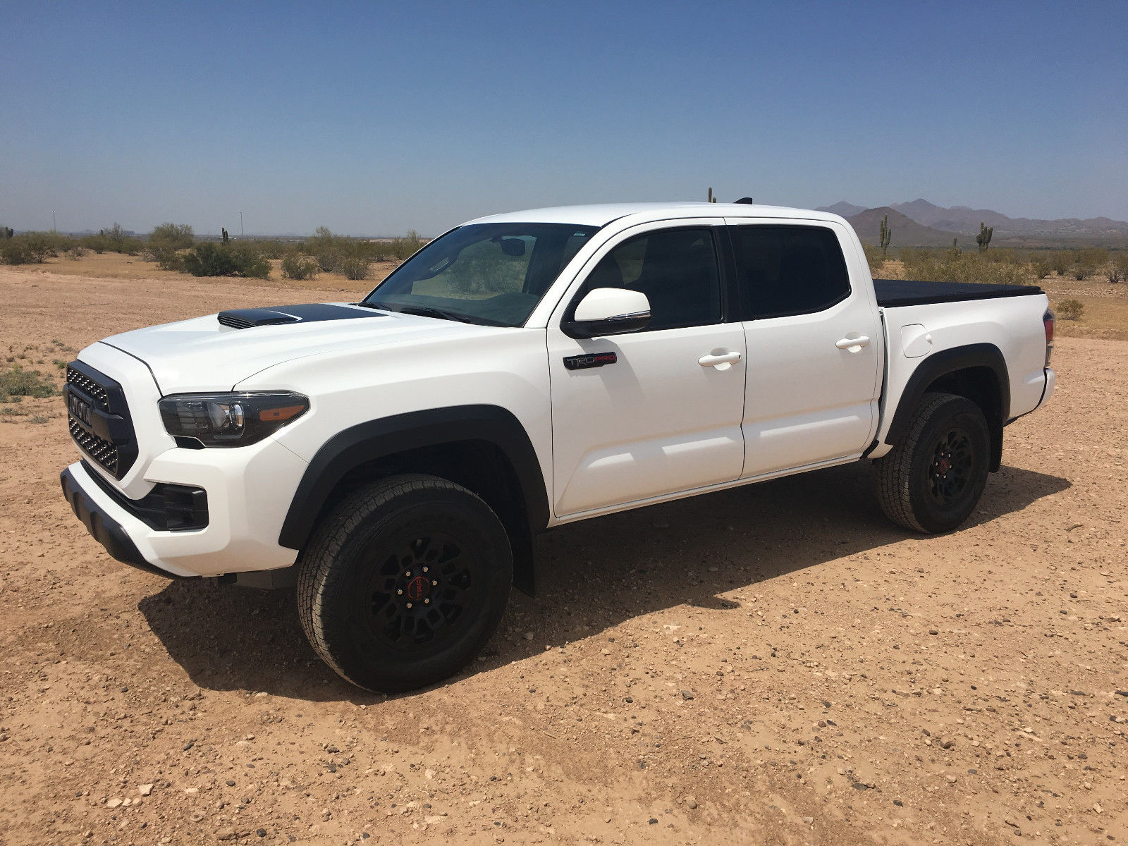 Absolutely Spotless 2017 Toyota Tacoma TRD Pro pickup for sale