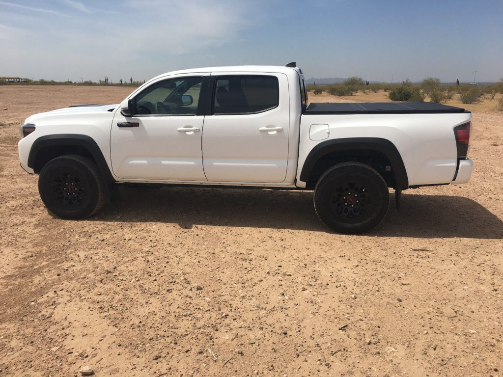 Absolutely Spotless 2017 Toyota Tacoma TRD Pro pickup