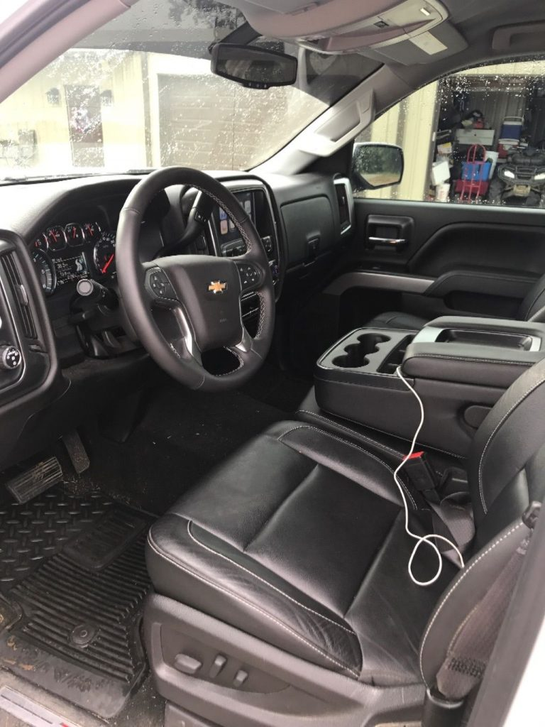 Built-in wi-fi 2016 Chevrolet Silverado 1500 lifted