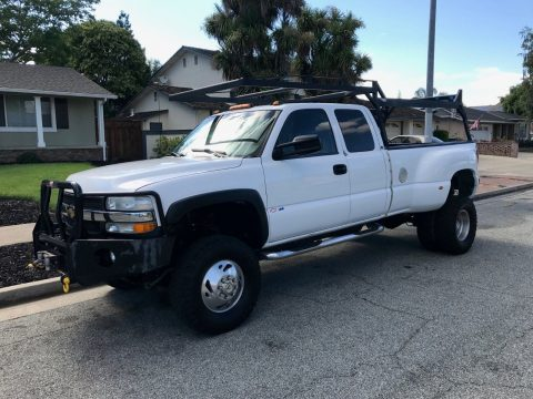 Dual wheels 2001 Chevrolet Silverado 3500 LS for sale
