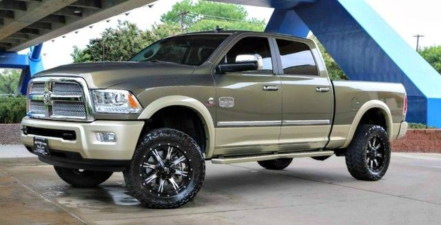 Equipped 2013 Ram 2500 Laramie Longhorn lifted for sale