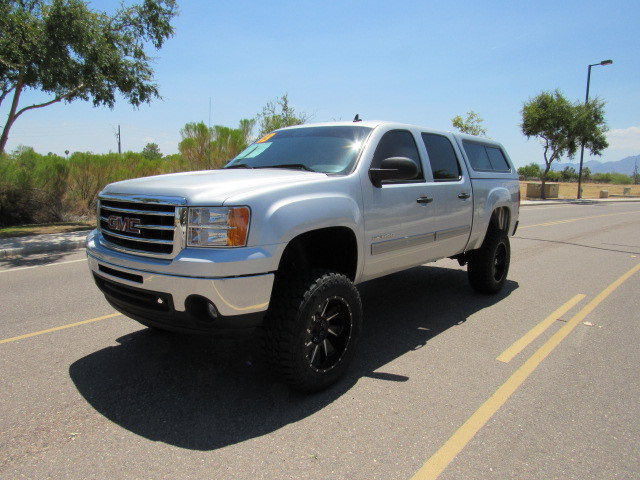 heavy duty 2013 gmc sierra 1500 sle 2wd lifted for sale. Black Bedroom Furniture Sets. Home Design Ideas