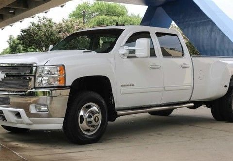 Loaded 2013 Chevrolet Silverado 3500 LTZ lifted for sale