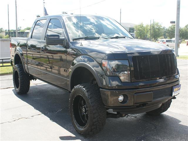 Loaded 2013 Ford F 150 FX4 lifted for sale