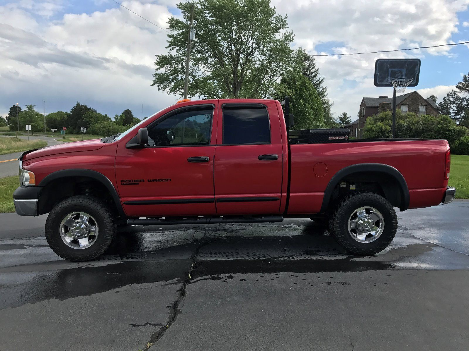 Reliable truck 2005 Dodge Power Wagon lifted