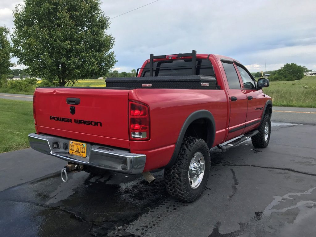 2017 Ram Power Wagon For Sale >> Reliable truck 2005 Dodge Power Wagon lifted for sale