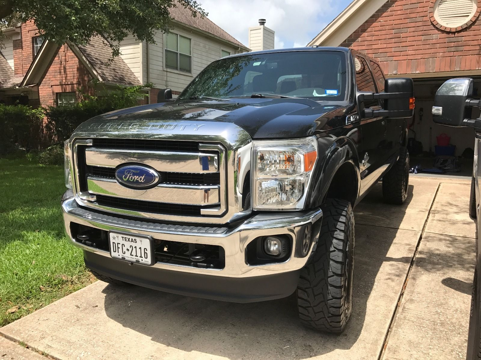 2017 Ford F250 Lifted >> Super clean 2014 Ford F 250 lariat lifted for sale