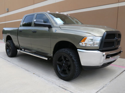 Well equipped 2013 Dodge Ram 2500 Tradesman lifted for sale