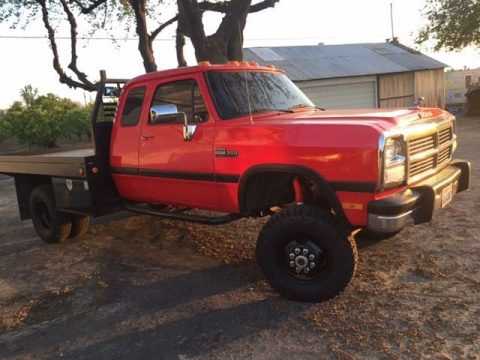 Dependable 1992 Dodge Ram 3500 Base lifted for sale