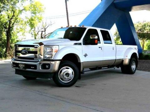 Equipped 2012 Ford F 450 Lariat lifted for sale