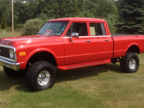 Flawless 1971 Chevrolet C/K Pickup 1500 vintage for sale