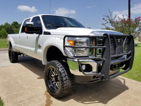 Great shape 2012 Ford F 350 Lariat lifted for sale