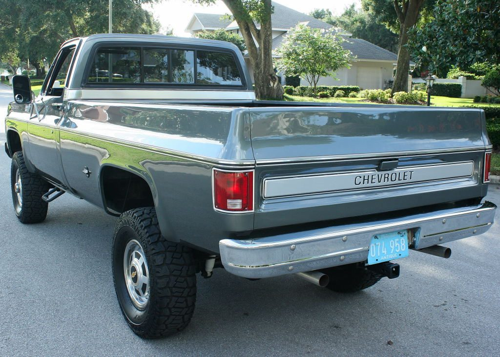 Immaculate 1975 Chevrolet C K Pickup 2500 Pickup 4X4