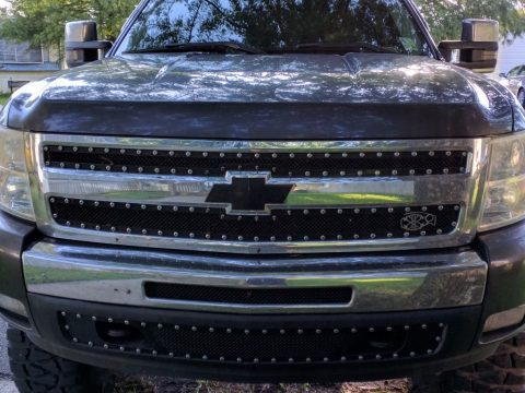 regularly maintained 2011 Chevrolet Silverado 1500 Crew Cab lifted for sale